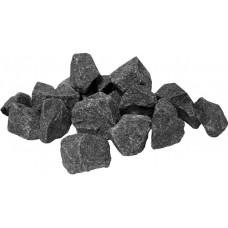 Камни для бани Габбро-диабаз колотый 20кг