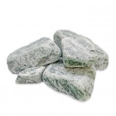 Камни для бани Змеевик (серпентинит) обвалованный 20кг