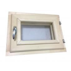 Окно для бани (30х30, липа)