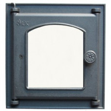 361 LK Дверца топочная со стеклом (250х280)