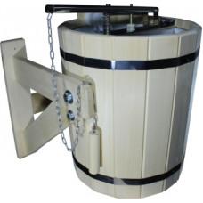 """Обливное устройство """"Водопад"""" с клапаном,с вкладышем из нерж. стали 20л."""