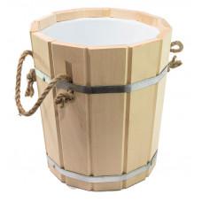 Запарник для бани 10л с пластиковым вкладышем ПЛ-41