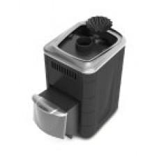 Печь банная Гейзер Мини 2016 Carbon ДН ЗК антрацит