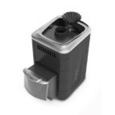 Печь банная Гейзер Мини 2016 Carbon ДН ЗК ТО антрацит