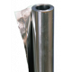 Фольга для бани алюминиевая 50мкм, намотка 12м2