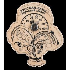 """Термометр """"Пословицы"""" для бани и сауны арт.18052"""