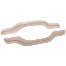 Ручка дверная, липа, большая, 35см арт.03596