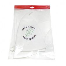 Набор для бани  (шапка, рукавица, коврик) войлок синт. арт.Б016