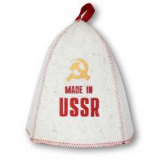 """Шапка для бани """"СССР"""" арт.Б406"""