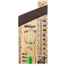 """Станция банная """"3в1"""" (термометр + термотабличка + часы песочные) арт.Б-1141"""