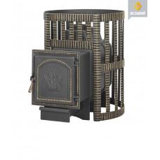 Чугунная печь для бани Везувий Легенда Ковка 16 (271)