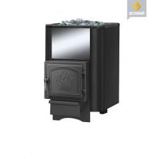 Чугунная печь для бани Везувий Сенсация 12 Антрацит (261)