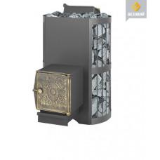 Печь для бани Везувий Скиф с закрытой каменкой (ДТ-4)